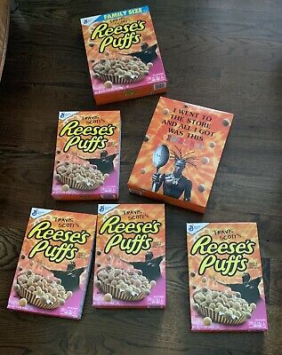 NEW Travis Scott x Reese's Puffs Limited Edition Cereal (REGULAR Size Box)
