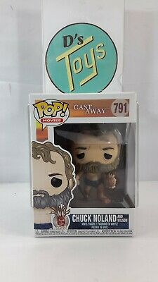 FUNKO POP! Movies Cast Away Chuck Noland and Wilson #791