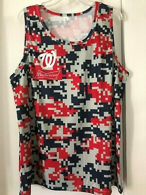 Washington Nationals XL Hawaiian Shirt New In Bag Stadium Giveaway SGA MASN sports memorabilia