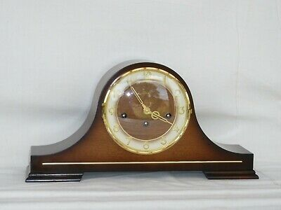 Superb Hermle 8 Day Walnut Westminster Napoleon Chime Mantle Mantel Clock