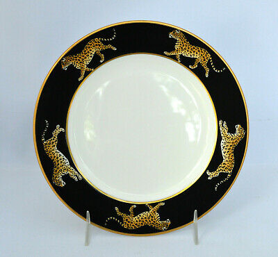 "Lynn Chase Designs JAGUAR JUNGLE 6 1/2"" Bread Plate"