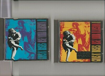 Guns N' Roses : Use Your Illusion I & II / TWO CD Albums
