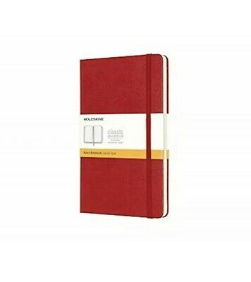 "Moleskine Classic Notebook, Hard Cover, Large (5"" x 8.25"") Ruled/Lined, S30048"