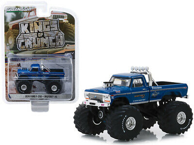 1974 Ford F250 Monster Truck Bigfoot Kings of Crunch Series 4 Greenlight 49040A*
