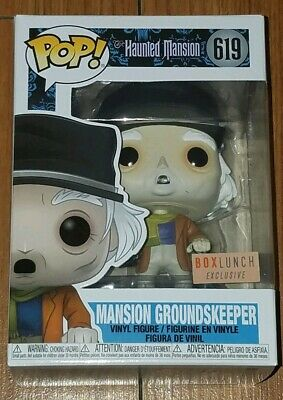 Funko Pop Disney #619 Mansion Groundskeeper Haunted Mansion Box Lunch Exclusive
