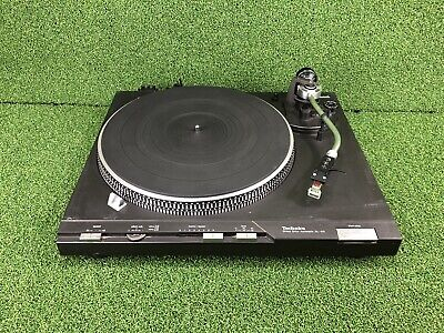 TECHNICS SL-D3 Direct-Drive Fully-Automatic Turntable SHURE M92E Record Player