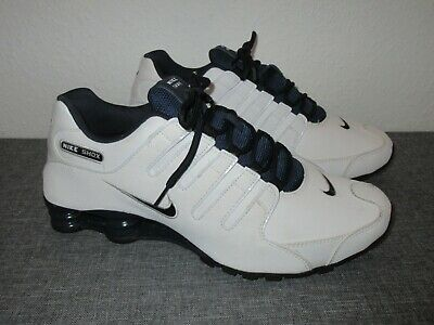 top quality factory price latest discount NIKE SHOX NZ Schuhe weiß-blau / Neuwertig Gr. 45 / UK 10 ...