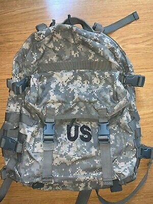 Us Military Surplus Army Acu Assault Pack 3 Day Molle Backpack Bugout Bag