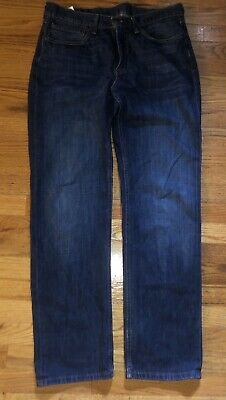official supplier top brands san francisco MENS LEVIS 28X32 Dark Blue 100% Cotton 514 Straight Fit Red Tab ...