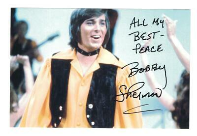 Bobby Sherman Signed Autographed 4 x 6 Photo Actor Singer B