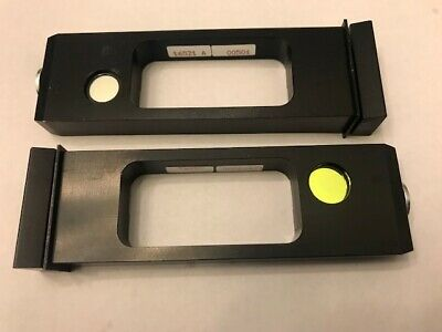 Microscope Slide Filters 492 nm and 405 nm
