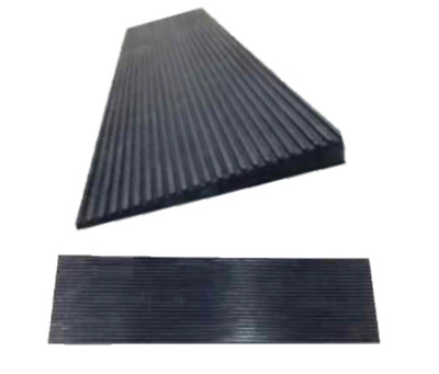 Rubber Wedge Ramp 30mm Height Threshold