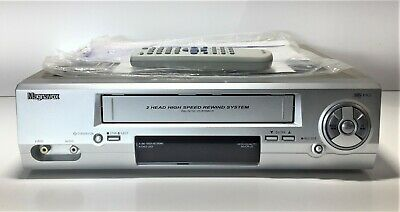 Maganavox Vhs / Vcr Player Mvcr-20   Includes Remote And Manual