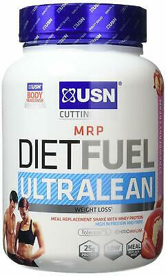 USN Diet Fuel Ultralean Weight Control Meal Replacement, Strawberry Cream, 1 kg