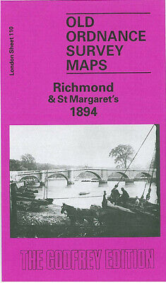 Old Ordnance Survey Maps Richmond & St Margarets 1894