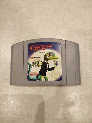 Nintendo 64 GEX 64 ENTER THE GECKO ( no mario zelda )