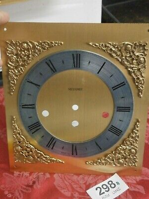 Clock Movement DIAL & Spandrels Hermle, Metamec wall Westminster Chime part 298A