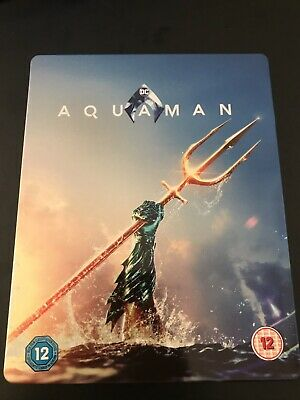 Aquaman • Steelbook • Bluray 4K • Zavvi Uk