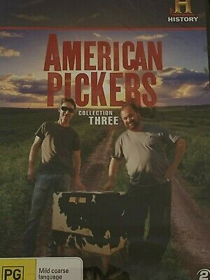 American Pickers Collection Three DVD Brand New
