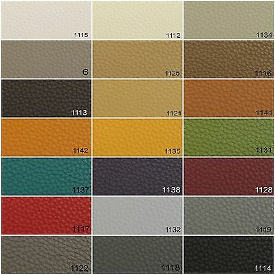 Nova Faux Leatherette Artificial Leather Heavy Grain Upholstery Vehicle Fabric