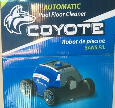 COYOTE POOL ROBOT Cleaner | Automatic Swimming Pool Cleaner ...