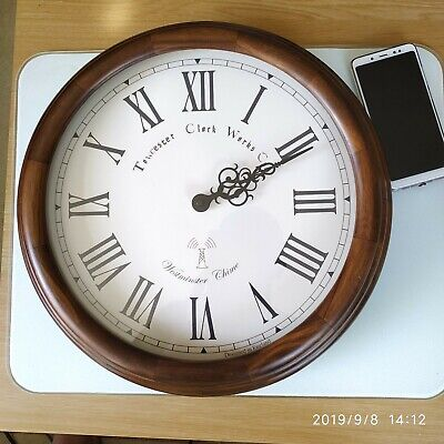 Antique large Big wall clock.TOWCESTER CLOCK  WITH WESTMINSTER-WHITTINGTON CHIME