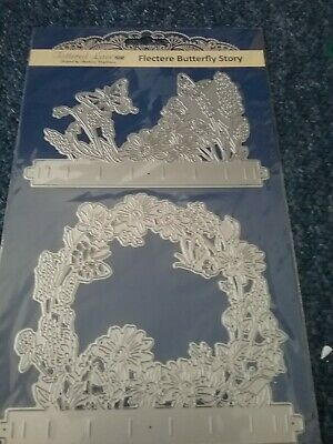 Tattered Lace Flectere Butterfly  story    die set BRAND NEW..