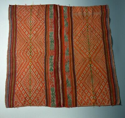 Very Fine Vintage  Peruvian manta cloth antique textiles