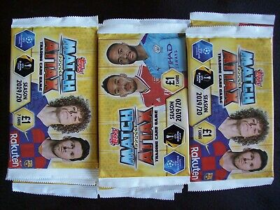 40 X Packs Of Match Attax 2019/20 Trading Cards......new & sealed