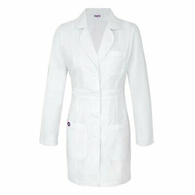 "Sivvan Women's Lab Coat 33"" Length with Adjustable Belt"
