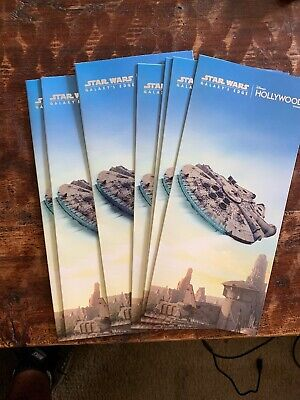 Star Wars: Galaxy's Edge, Disney World Park Map Hollywood Studios Batuu