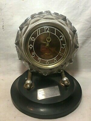 !!!!!!! Soviet Mantel-Table-Antique Clocks (Beacon) Working!! Gift! Ussr !!!!!!!