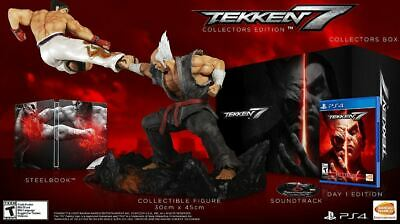 BRAND NEW PS4 TEKKEN 7 - Collector's Edition -  Never Opened - Playstation 4