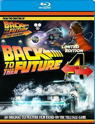 Back To The Future Part 4 Bluray CGI Feature  Christopher Lloyd Michael J Fox