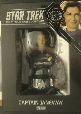 Eaglemoss Star Trek Collectors Bust: Kathryn Janeway