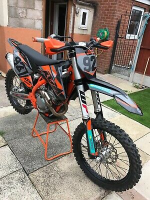 2019 KTM 250 EXC-F Six Days, 250EXCF Red Bull Graphics, FMF