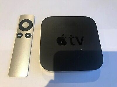 Apple TV A1469 3rd Generation HD Media Streamer - Black - Faulty