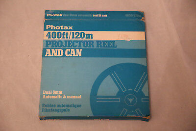 New Old Stock Photax dual 8mm Automatic projection Reel