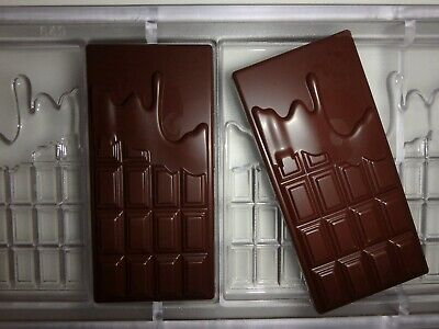 NEU!  SCHOKOLADENFORM 5 x SCHOKOTAFEL NEW chocolate mold CHOCOLATE BAR # 649