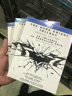 The Dark Knight Trilogy Special Edition Blu-ray- Brand  New & Sealed- Fast Ship!