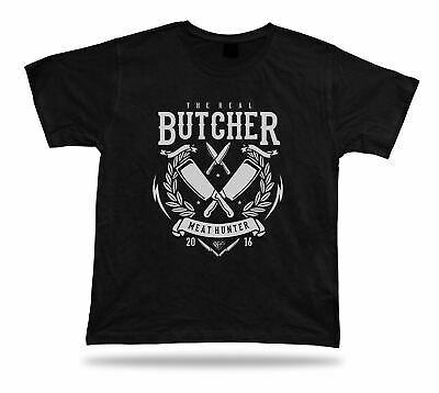 The real butcher meat hunter t shirt tee awesome cool modern textile idea