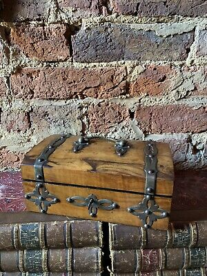 Antique 19th Century Victorian Gothic Jewellery Box Work