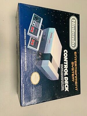 Nintendo NES Control Deck Console System In Box CIB Nintendo Players Guide