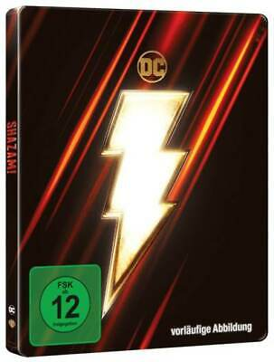 Shazam! (4K UHD + Blu-ray Steelbook) EMBOSSED BRAND NEW