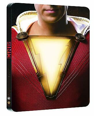 Shazam! (4K UHD + Blu-ray Steelbook) NEW / SEALED