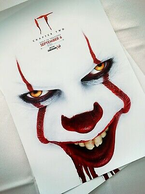 Stephan King  IT Chapter 2 11.5 in x 17 in Original Movie Promo Poster