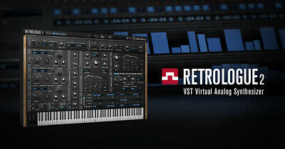 STEINBERG RETROLOGUE 2 | Genuine Download License |  | Virtual Anallog Synth