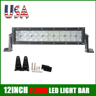 12inch Led Work Light Bar COMBO Driving Off road SUV UTE Car Truck ATV 4WD US