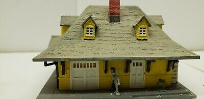 Lincoln Train Station Gettysburg 2pc EASY to Assemble N Scale 1:160 Hollow