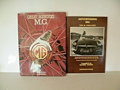 Great Marques M.g. Hc Book & Advertising Mg Vol Ii, 1956-1992 Softcover Book